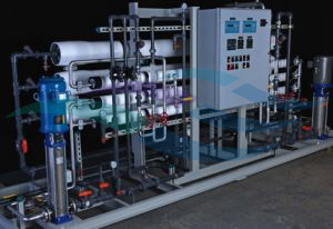 High recovery 2-pass RO water recycle system