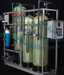 10 GPM rinse water IX recycle system